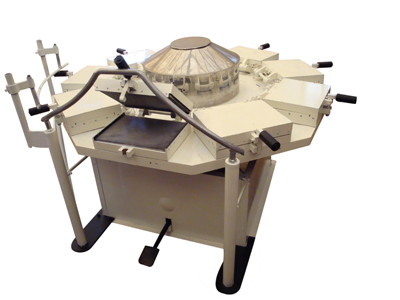 Manual wafer machine